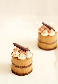 dailydelicious: Cappuccino Coffee entremets: I can't stay away from you.
