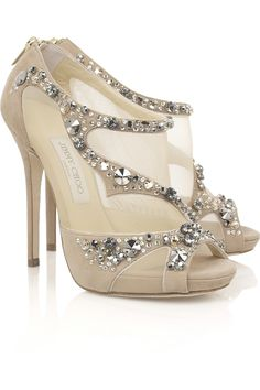 Quinze Embellished Sandals by Jimmy Choo
