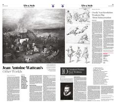 Jean-Antoine Watteau's Other Worlds Epoch Times #Arts #Painting #newspaper #editorialdesign