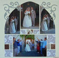 Making A Bridal Shower Scrapbook – Scrapbooking Fun! Scrapbook Examples, Scrapbook Templates, Scrapbook Designs, Scrapbook Sketches, Scrapbook Page Layouts, Scrapbook Paper Crafts, Wedding Scrapbook Pages, Bridal Shower Scrapbook, Disney Scrapbook Pages