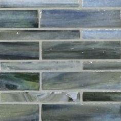 Agate Glass / Moyou. Moyou (½ x 4, 1 x 4). Lunada Bay Tile. Many other colors available.