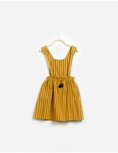 Woven Dungaree Skirt Skirts - PA04/4AC11202 | Play Up