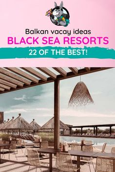 Balkans Travel Blog: Your Balkan vacay just got a whole lot more chill with these incredible options for resorts along the Black Sea. Bulgaria, Turkey and Romania are home to sunny beaches and stunning seaside towns for your summer vacation. Check out our top picks for Black Sea resorts. #BalkansTravel #WhatToDoInTheBalkans #BlackSeaCoast #BlackSea #Balkans #BulgariaTravel #TurkeyTravel #RomaniaTravel Beach Trip, Vacation Trips, Vacation Spots, Beach Travel, Romania Travel, Seaside Towns, Turkey Travel, Black Sea, Best Location