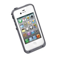 Grey LifeProof Case for the iPhone 5