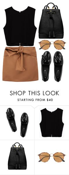 """""""Moonage daydream"""" by bluis-h ❤ liked on Polyvore featuring Tod's, Zara, Tory Burch, J.Crew and N°21"""