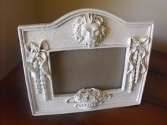 Shabby Chic Frame  White  Cottage Chic  by FancySchmancyJewels, $10.00