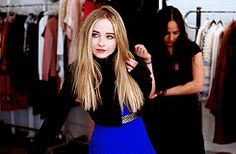 Sabrina Carpenter Behind The Scenes for her Tiger Beat (April/May 2016) Cover