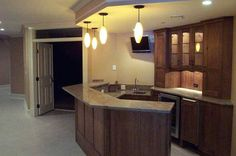 green basements and remodeling, bars | ... paying those large gym prices? Add an exercise room to your basement