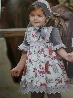 #QQTras - Tienda de ropa infantil: Vestido #Foque, colección #lascaballerizas ya en www.qqtras.es