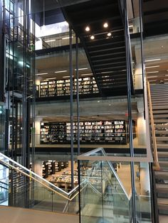 #Montreal #Montreallibrary #Quebec #library #librarydesign Mont Real, Of Montreal, Library Design, Quebec, Home Decor, Large Bookcase, Decoration Home, Room Decor, Quebec City