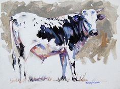 Terry Kobus - Nguni Cattle Paintings - Nguni Study on Gesso Panel 400 x Cow Painting, Artist Painting, Painting & Drawing, Farm Art, South African Artists, Cow Art, Rind, Animal Paintings, Cattle