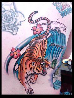 #tiger #tattoo