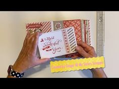 Christmas Mini Albums, Christmas Minis, Mini Album Tutorial, Scrapbooks, Projects To Try, Sisters, Crafty, Make It Yourself, Youtube
