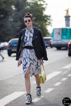 Marianne Theodorsen Styledevil Street Style Street Fashion Streetsnaps by STYLEDUMONDE Street Style Fashion Blog