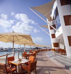 Jumeirah Beach Hotel - Dubai Restaurants - Waterfront - Healthy