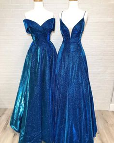 Love you more than the stars in the sky 🌌 Pretty Prom Dresses, Prom Dresses Blue, Dance Dresses, Ball Dresses, Elegant Dresses, Homecoming Dresses, Beautiful Dresses, Summer Dresses, Formal Dresses