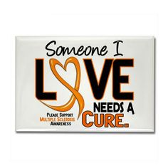Multiple Sclerosis Awareness Month Fridge Magnets Multiple Sclerosis WOULD LOVE TO GET THESE FOR FAMILY MEMEBERS