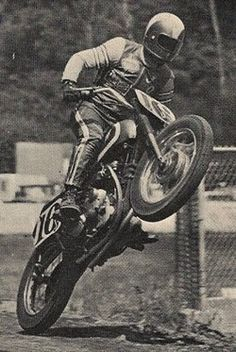 Flat Track Motorcycle Racing...