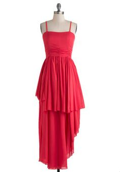 Rhubarb None Dress, #ModCloth: great silhouette for bridesmaid dresses.