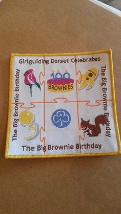 Girl Guiding Big Brownie Birthday 100 years - Dorset celebrates
