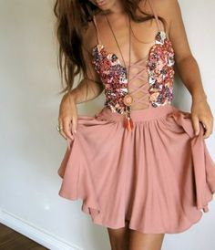 top would also be fantastic with a pair of dark wash jean shorts to play down the dressy element...