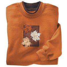 Three Leaves Sweatshirt - Kitchen products, Home Décor, Apparel, Gardening and more | Country Store