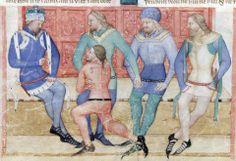 BNF Nouvelle acquisition française 5243  Guiron le Courtois 1370-1380 f49v , Italy