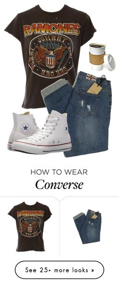 """Untitled #72"" by hawawk on Polyvore featuring MadeWorn and Converse"