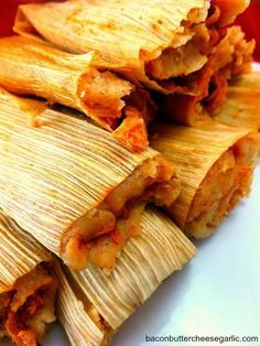 Homemade Chicken Tamales...so worth the effort! Homemade Tamales, Enchiladas, Masa For Tamales, Beef Tamales, Mexican Tamales, Chicken Tamales, Chicken Pozole Recipe, Mexican Posole, Vegan Tamales