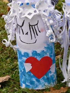 Tvoříme s dětmi ☺: Vánoce a advent Angel Crafts, Winter Art, Christmas Photos, Puppets, Dolls, Halloween, Ideas, Xmas Pics, Baby Dolls