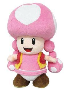 Little Buddy LLC, Super Mario All Star Collection: Toadette Plush Super Mario All Stars, Super Mario Bros, Mario Toys, Puppets For Kids, Mario Kart, Plush Dolls, Plushies, Hello Kitty, Teddy Bear
