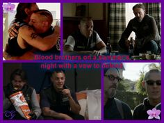 Juice and Chibs, blood brothers