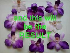RESIN COATING REAL ORCHIDS. Here's how to 1/2. - YouTube