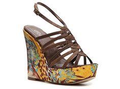 I don't do stilettos too well; but I do love a cute wedge ;)