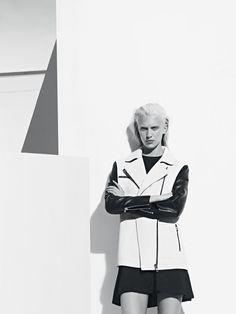 LOOK 5 - Jacket VOLCAN and Dress RELATOR #SandroRoadTrip