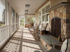 Beautiful porch design! Porch #porch