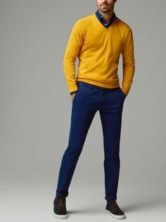 malha-sueter-camisa-marinho-calca-marinho Mens Fashion Shoes 182b346059f