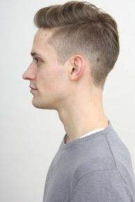 This style is so popular right now for men! It's also the haircut my boyfriend wants. I love it!