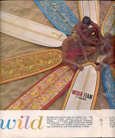 wild ! surf, California, 1967