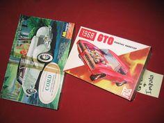 Plastic Model JUNKYARD Cord Phaeton Sedan and Box Marked GTO and Impala  #MPC Hobby Kits, Gto, Impala, Plastic Models, Cord, Classic, Ebay, Derby, Cable