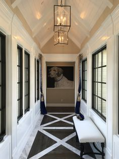 """Luv the floor. Model home at Davidson Comminites """" The Oaks """" equestrian community Davidson Homes, Entry Foyer, Foyers, Classic House, Model Homes, Home Projects, Equestrian, Floor Plans, Community"""