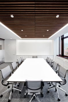 New York, NY Moving from the Financial District to Hudson Square, Fogarty Finger helped this trading firm develop a sleek, contemporary aesthetic in a former warehouse building. Playing into existi…