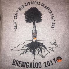 Who else loves this 2017 @brewgalooraleigh t-shirt?!?! Killer job @armcarthur