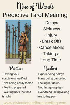 The Nine of Wands: Predictive Tarot Card Meanings — Lisa Boswell Nine Of Wands, What Are Tarot Cards, Tarot Significado, Tarot Cards For Beginners, Tarot Astrology, Love Astrology, Tarot Card Spreads, Love Tarot, Astrology