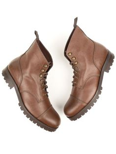 Will's Vegan Shoes Womens Chestnut Vegan Work Boots at wills-vegan-shoes.com