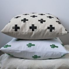 If you need to up your pillow game, check out this tutorial from Fish and Bone. These patterns are just too cute!
