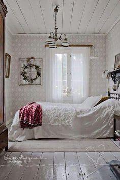 Tranquil bedroom.