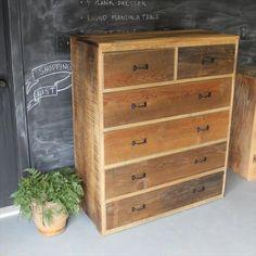 Diy Pallet Dresser Multiple Drawers