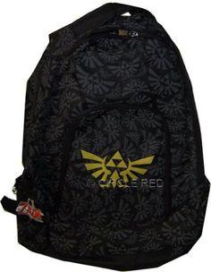 Amazon.com: Bioworld Zelda: Twilight Princess Triforce Backpack: Clothing
