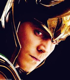 """He's been very kind to me....this bad boy."" ~ Tom Hiddleston #Loki"